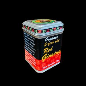 Organic Korean Red Ginseng – fine powder, 30g